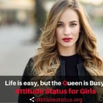 Best Attitude Status for Girls in English (Girly attitude quotes/captions)