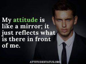 attitude love dosti status