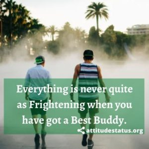 Best Buddy status and quotes images