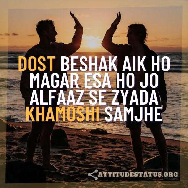 Urdu Hindi Status for Friends