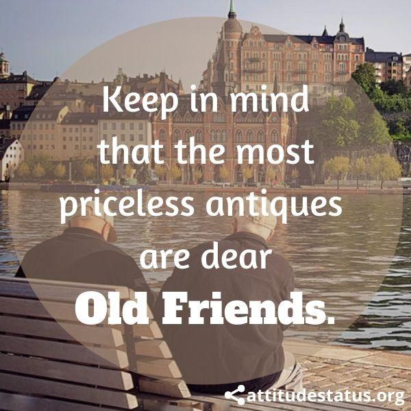 Old FriendShip attitude status
