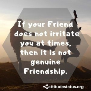 True Friendship Yaari Attitude Stauts quotes
