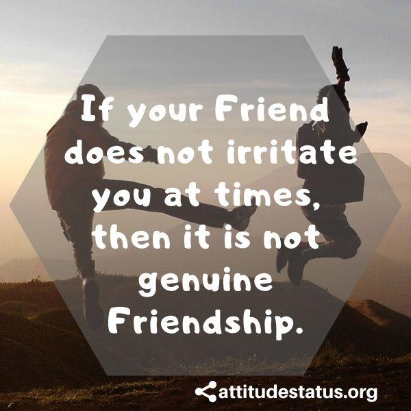 True Friendship Yaari Attitude Stauts quotes