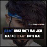 99+ Badmashi Khatarnak Attitude Status in Hindi/ENG