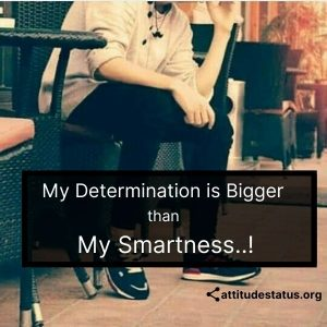 determination attitude status
