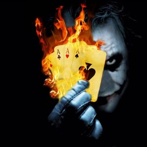 Joker Attitude dp for boys