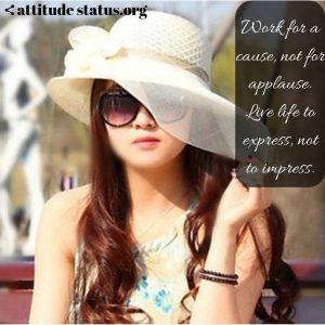 attitude girls quotes