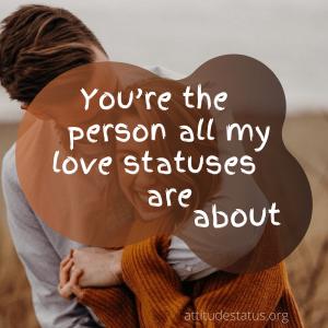 2 Line Love Status in English