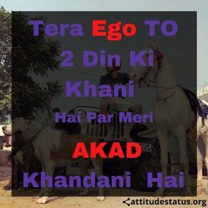 hindi attitude quotes status image download