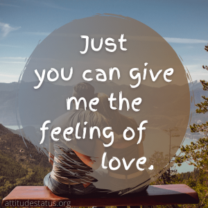 Feeling of Love Quotes in english Image photos