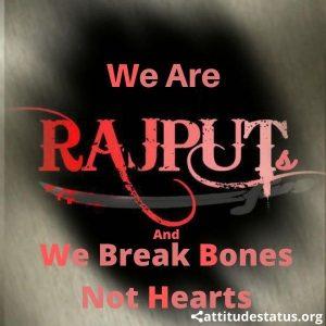 Rajput attitude status quotes free download