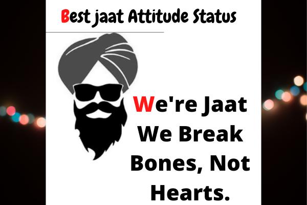 Best Jaat jutt jatt attitude status and quotes English HINDI AND Urdu