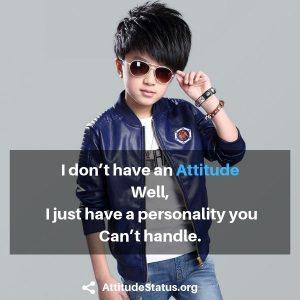 Attitude Status in English text image