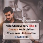 Heart touching Attitude Lines Quotes