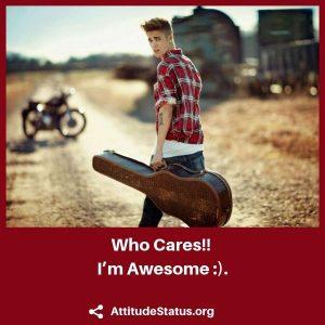 Attitude Status for Whatsapp english