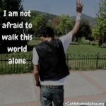 attitude sms for boys about alone
