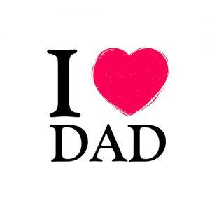 i love dad dp whatsapp