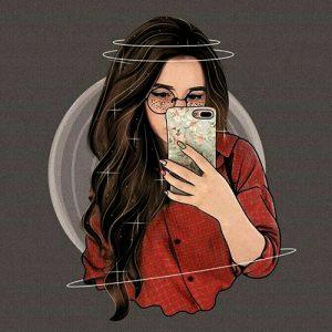 selfie dp
