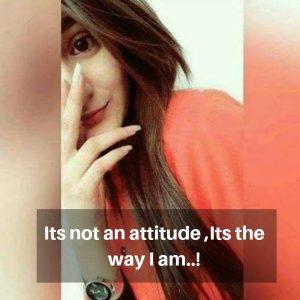 Gal Attitude Status for Instagram image