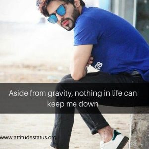 motivational inspiration captions for photos on attitude
