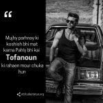 attitude shayari for boys image
