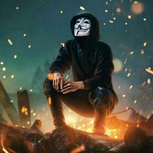 hacker mask dp stylish hd