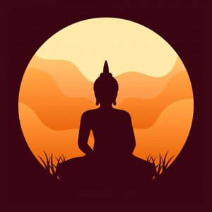 buddah yoga dp for whatsapp