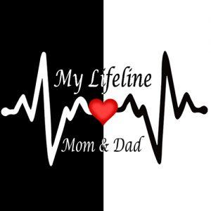 Mom dad love dp